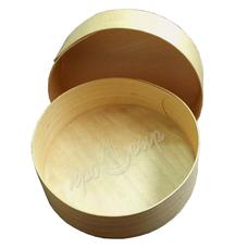 Коробочка для сыра из березового шпона 12 см