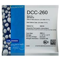 Мезо-термофильная закваска Chr.Hansen DCC-260 (350U)